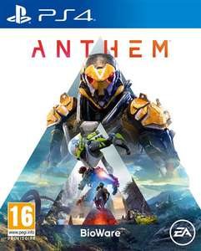 Anthem sur PS4, Xbox One & PC + Lunettes type « Aviators » avec un étui et un chiffon camouflage