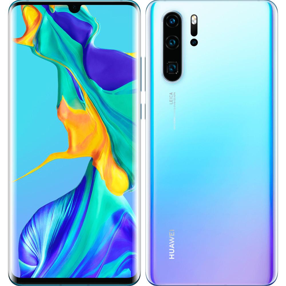 """Smartphone 6.47"""" Huawei P30 Pro - OLED Full HD+, Kirin 980, RAM 8 Go, ROM 128 Go (+ 97.35€ en SP) - Boulanger (589€ via Google Shopping)"""