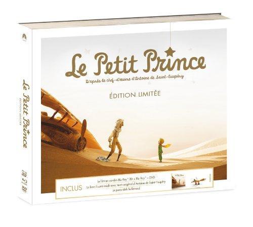 Le Petit Prince - Coffret Édition Limitée Combo (DVD+Blu-Ray+3D)  + Goodies