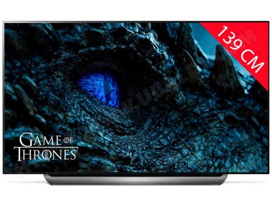 "TV 55"" LG OLED55C9 - 4K UHD, OLED, HDR10, Dolby Vision & Atmos, Smart TV + Chromecast Ultra 4K"