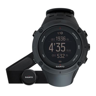 Sélection de montre trail en promotion - Ex : Suunto AMBIT3 PEAK HR - Montre GPS/Cardio black + Ceinture
