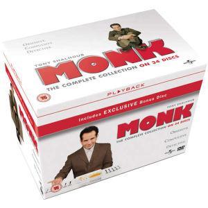 Coffret DVD : Intégrale Monk (Anglais)