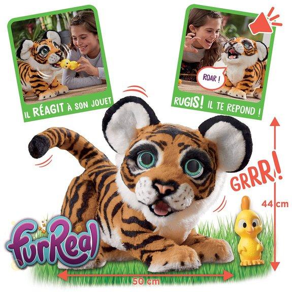 Peluche interactive Tigre rugissant Tyler Furreal