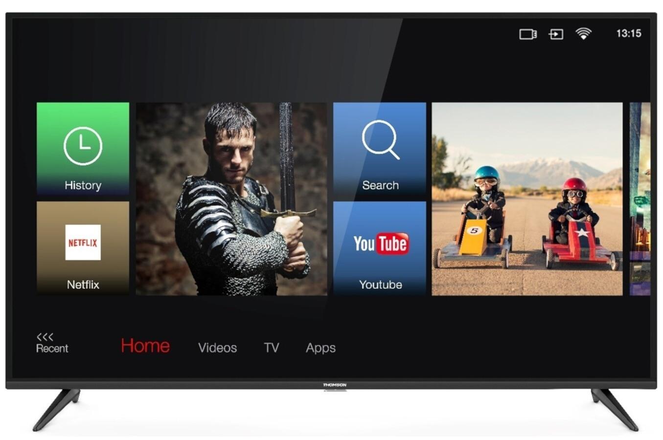 """TV 65"""" Thomson 65UD6336 - 4K UHD, LED, 1200 PPI, HDR, Smart TV (+50€ en bon d'achat)"""