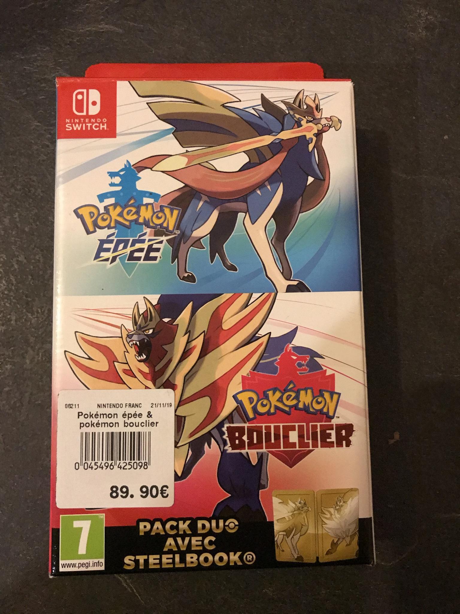 Coffret Collector Pokémon Épée et Bouclier + Steelbox - St Eulalie (33)