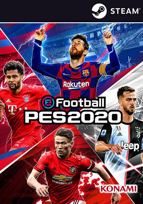 eFootball PES 2020 sur PC (Dématérialisé - Steam)