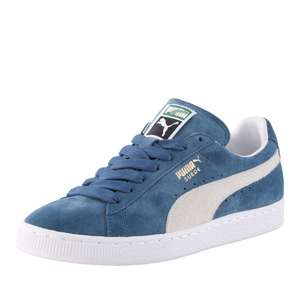 Puma Suede Classic Bleues - Tailles 35,5/39/40/42/43/44