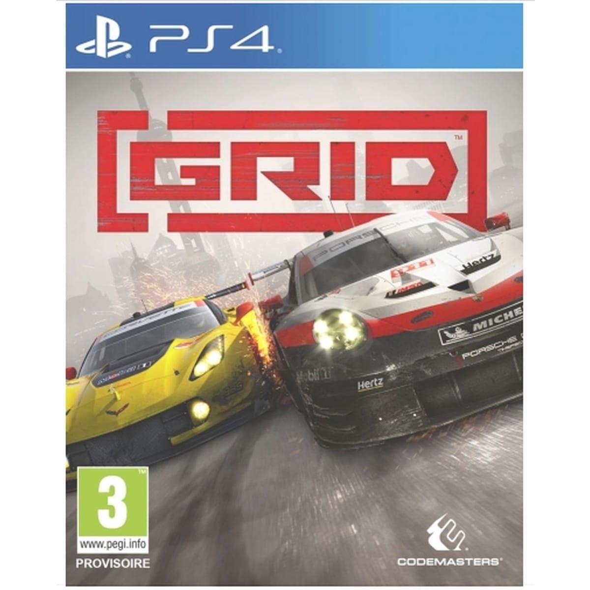 GRID sur PS4 et Xbox One