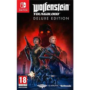 Wolfenstein : Youngblood Edition Deluxe sur Nintendo Switch & PS4
