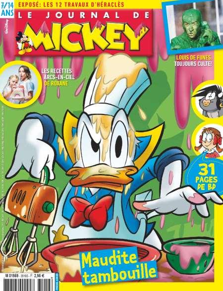Abonnement Hebdomadaire Journal de Mickey 30 numeros (7 mois)