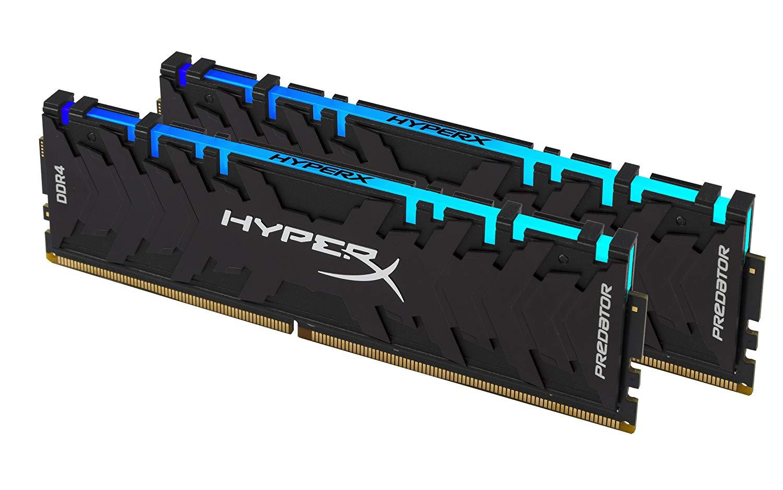 Kit Mémoire DDR4 HyperX Predator 16 Go (2 x 8 Go) - 3200 MHz, CL16, RGB