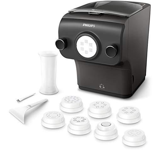 Machine à pâtes automatique Philips HR2382/10 - Balance intégrée, 8 disques de forme