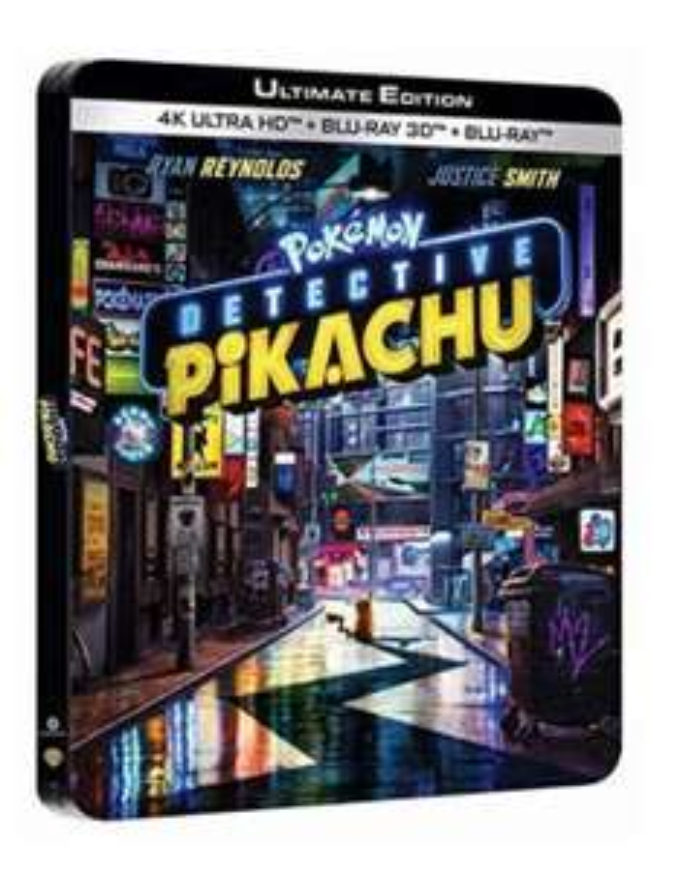 Blu-ray 4K Pokémon Détective Pikachu (Boîtier SteelBook Limité)