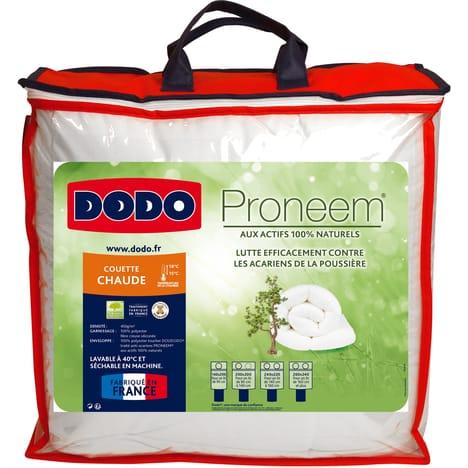 Couette chaude anti-acariens aux actifs 100% naturels Dodo - 450g/m2