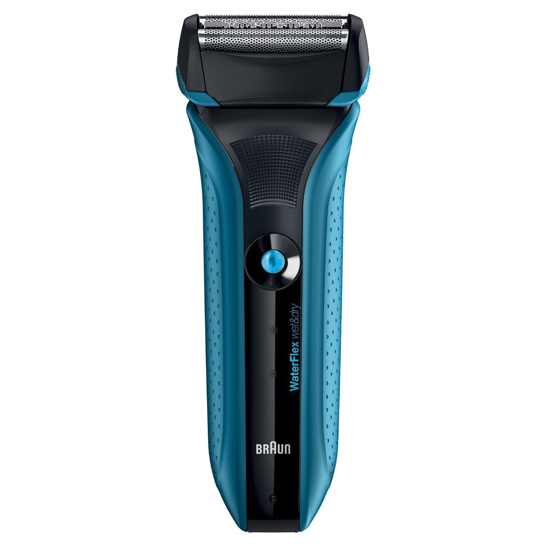 Rasoir électrique Braun WaterFlex WF2S - Bleu avec tête pivotante