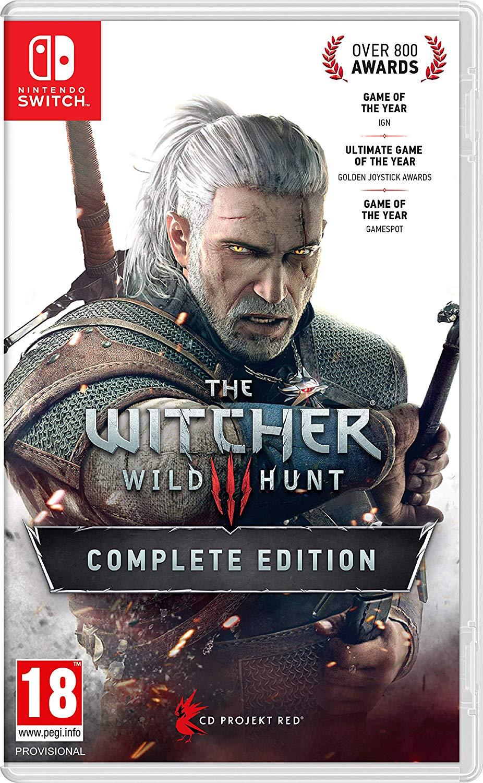 The Witcher 3 Complete Edition sur Nintendo Switch (+ lunettes d'aviateur)