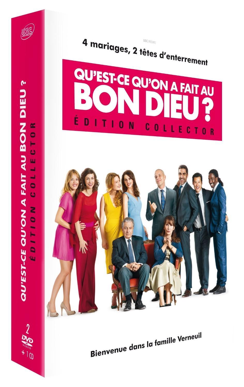 Coffret DVD Qu'est-ce qu'on a fait au Bon Dieu (Édition Collector)