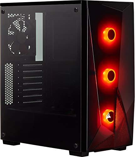 Boitier PC Gaming Corsair Spec-Delta Carbide Series, RGB en Verre Trempé - Noir