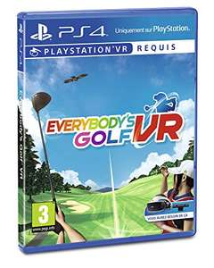 Everybody's Golf sur PS4 / PSVR