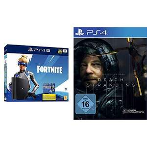 PS4 Pro 1To + Fortnite + Death Stranding