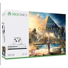 Pack Console Xbox One S 500 Go + Assassin's Creed Origins + GTA V + PUBG