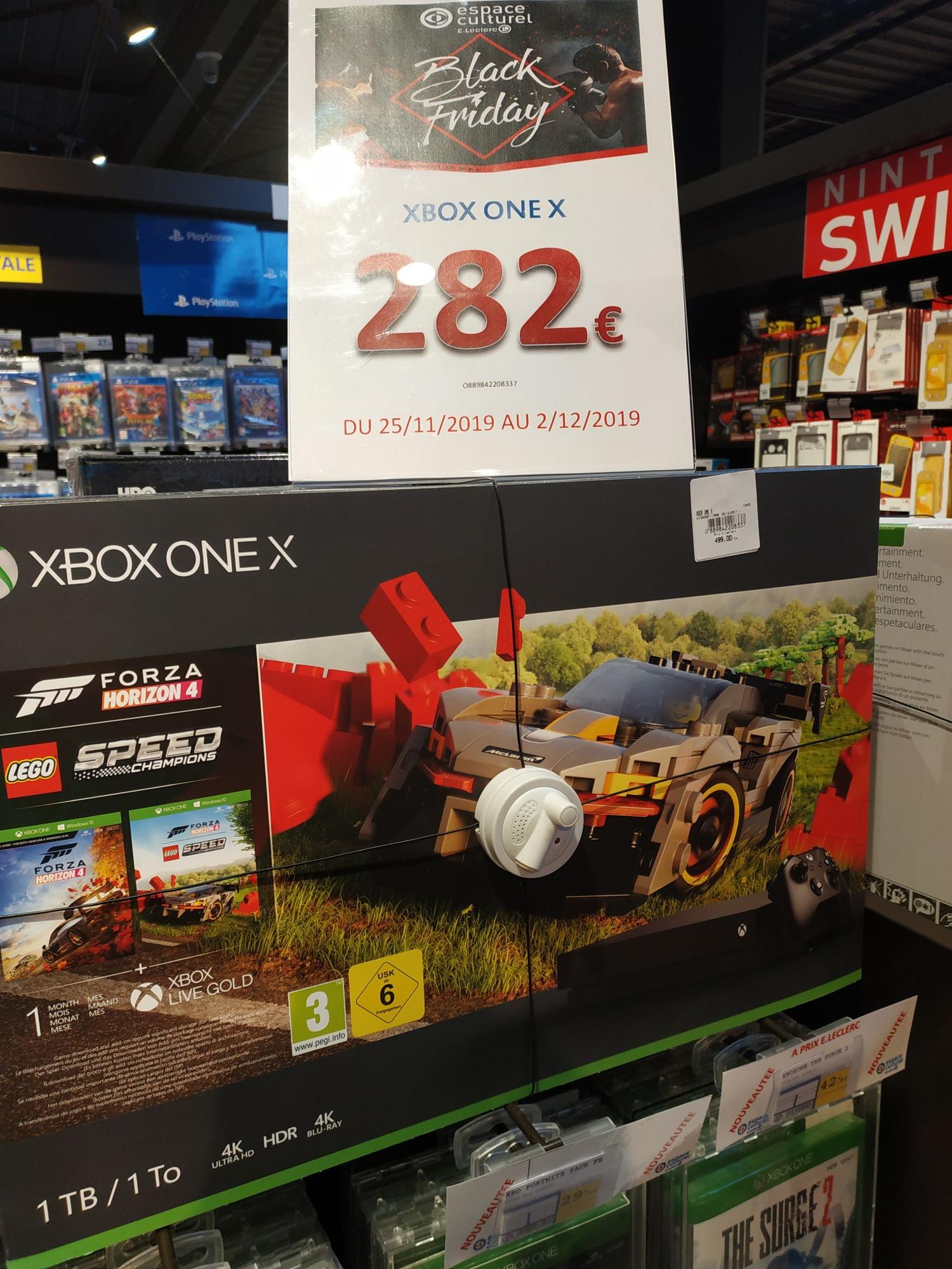 Console Xbox one X 1 To Leclerc multimédia à Lure 70200 (Haute-Saône 70)
