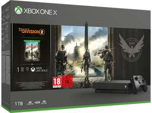 Pack Xbox One X (1 To) + Tom Clancy's The Division 2 (Frontalier Suisse)