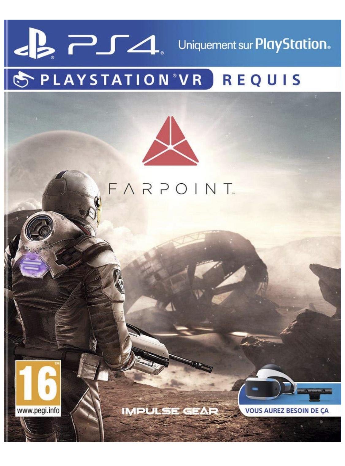 Farpoint (PSVR) sur PS4
