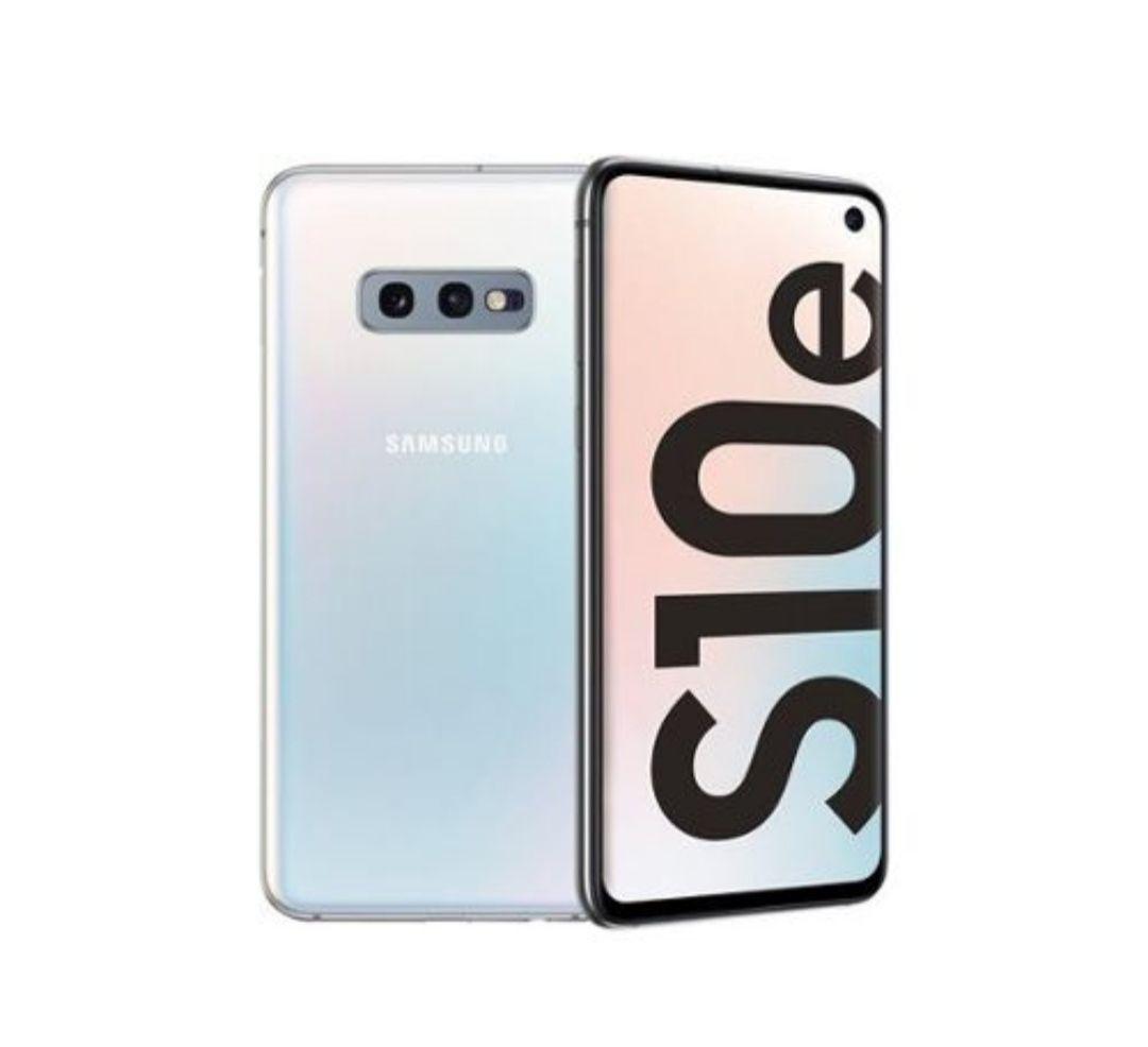 """Smartphone 5.8"""" Samsung Galaxy S10e - full HD+, Exynos 9820, 6 Go de RAM, 128 Go, blanc (+ 47.3€ en SuperPoints)"""