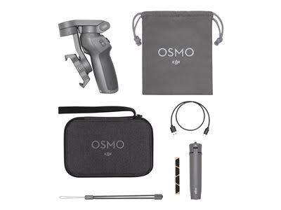 Stabilisateur DJI Osmo Mobile 3 Combo + Poignée trépied + Coffret de transport (104,74€ avec le code BFSTART12)
