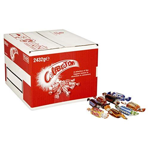 Carton de chocolats Celebrations Chocolate Bulk - 2.432 kg