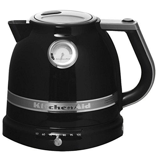 Bouilloire KitchenAid 5KEK1522EOB Artisan - 2400 W, 1.5 liters, Noir Onyx