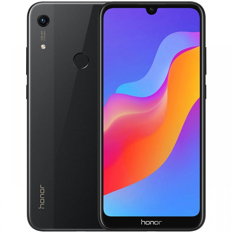 "Smartphone 6.1"" Honor 8A - HD+, MT6765, 2 Go RAM, 32 Go ROM (slot micro SD), Batterie 3000 mAh, Android 9.0 (via ODR 30€)"