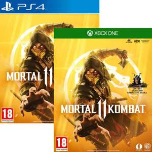 Mortal Kombat 11 sur PS4 ou Xbox One