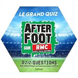 Sélection de livres, romans, kit de pâtisserie et autres jusqu'à -80% - Ex : Le grand quiz After foot RMC