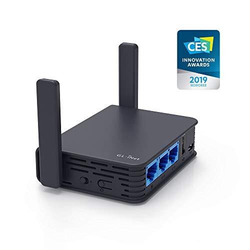 Routeur Wi-Fi GL.iNet GL-AR750S-Ext - compatible clé 4G, Tethering et VPN (vendeur tiers)