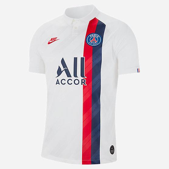 Maillot de Football Nike du Paris Saint Germain Third saison 19/20 - Du S au 3XL