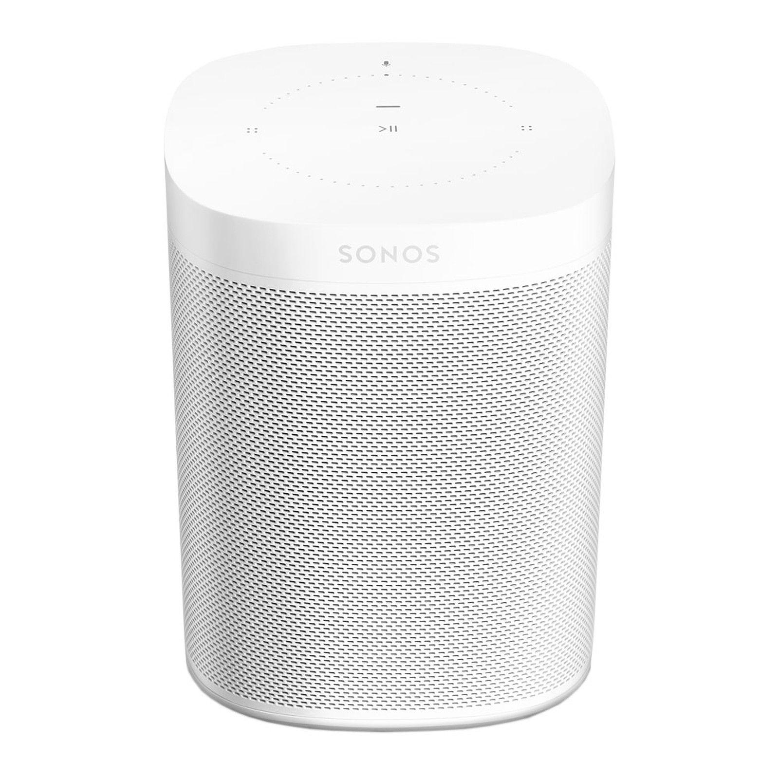 Enceinte sans-fil multiroom Sonos One (Gen2) -Blanc (+18.20€ en SuperPoints)