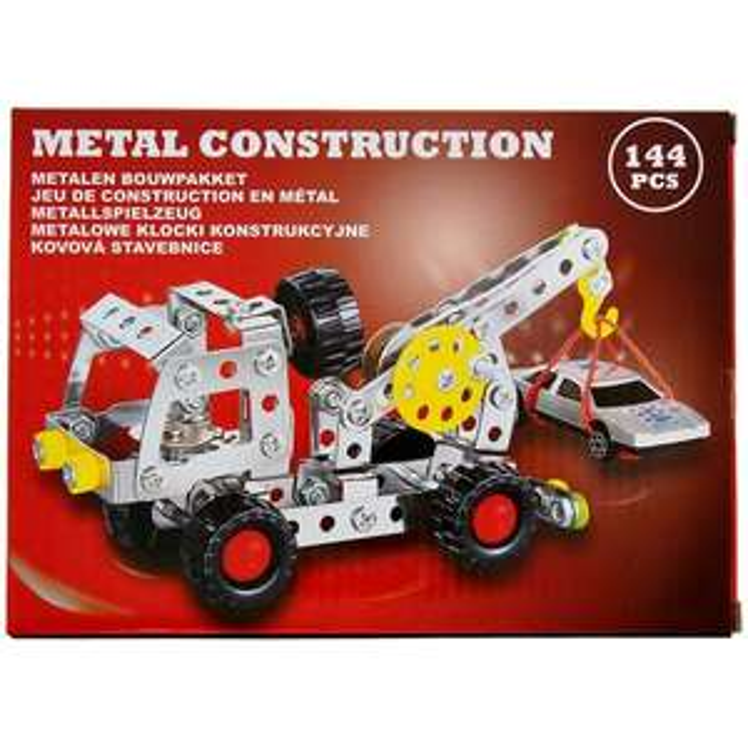 Kit de construction en métal - Diverses variantes jusqu'à 144 pièces