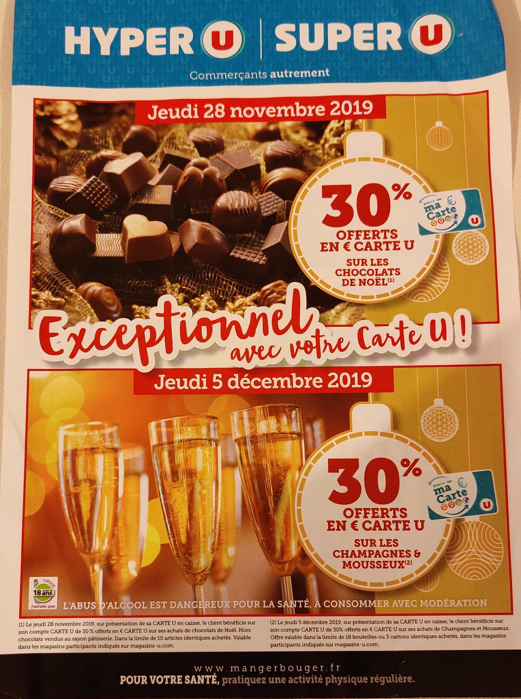 Lot de 3 boîtes de 30 Ferrero Rocher - 3 x 375 g (Via 4.01€ sur la carte fidélité)