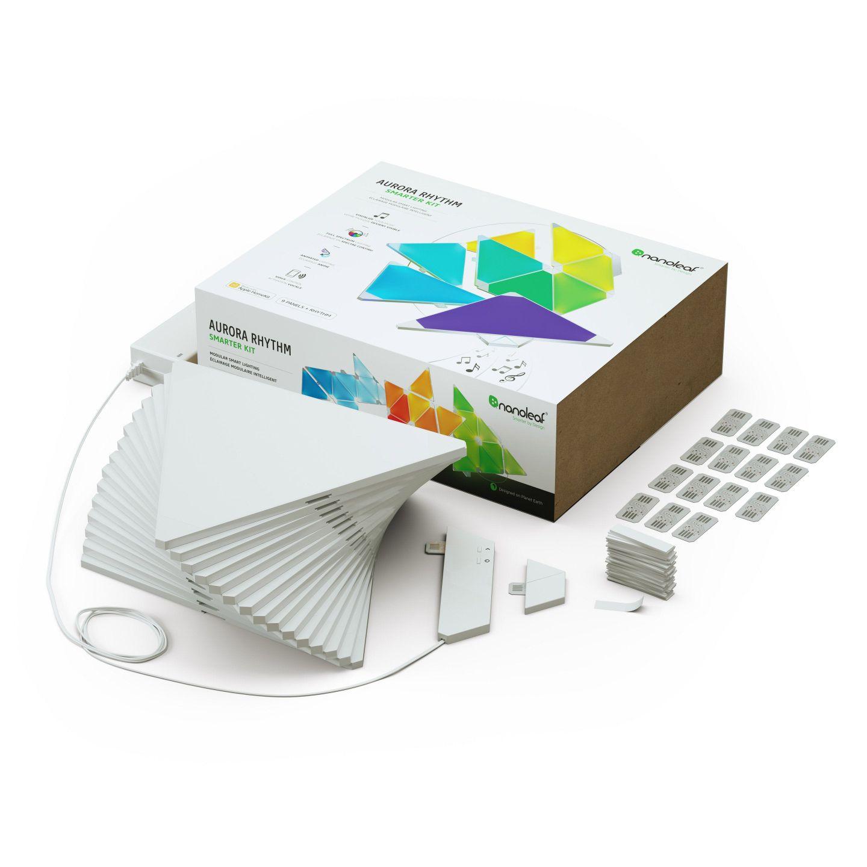 Pack de base Nanoleaf : 15 Panneaux Lumineux LEDs - Light Panels Rhythm Edition