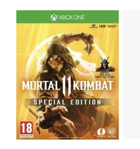 Mortal Kombat 11 Edition Steelbook sur Xbox One et PS4