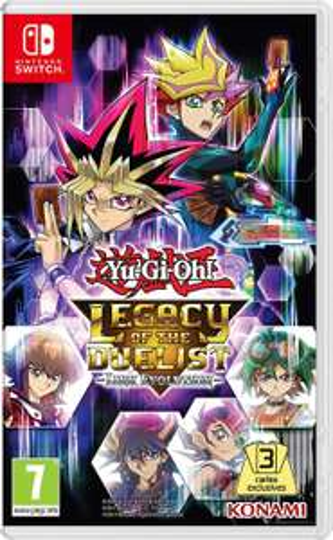 Jeu Yu-Gi-Oh Legacy of the Duelist sur Nintendo Switch