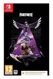 Fortnite Pack Feu Obscur sur Nintendo Switch
