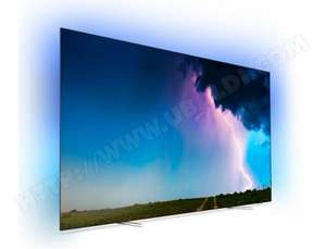 "TV OLED 55"" Philips 55OLED754 - UHD 4K, HDR, Smart TV, Ambilight 3 Côtés, Dolby Vision / Atmos"