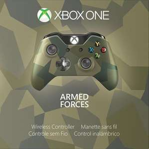 Manette Sans Fil Edition Spéciale Armed Forces II Xbox one