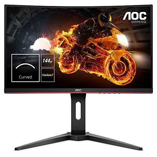 Écran PC 24'' Gamer AOC C24G1 - Full HD, Dalle VA, 144Hz, 1ms, FreeSync