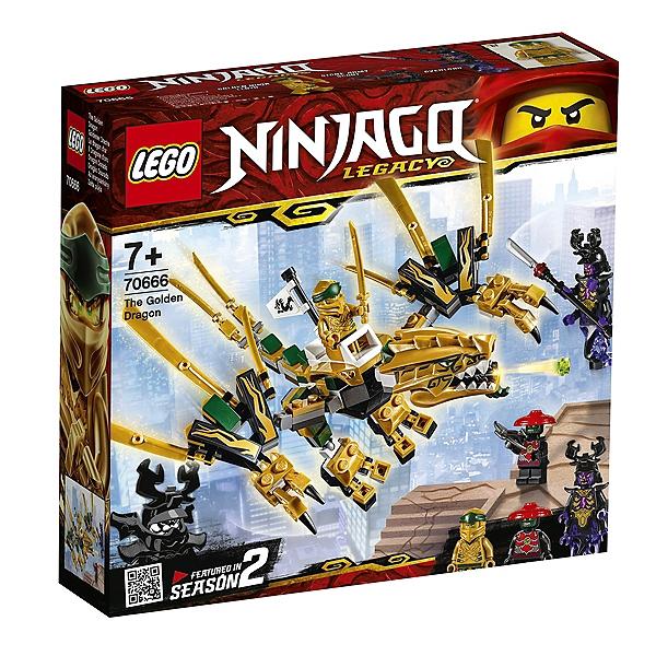 Jeu de construction Lego Ninjago - Le Dragon d'Or 70666 (via 6.25€ sur la carte fidélité)