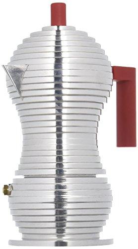 Cafetière Espresso en Fonte d'aluminium Alessi Mdl02/3 R Pulcina