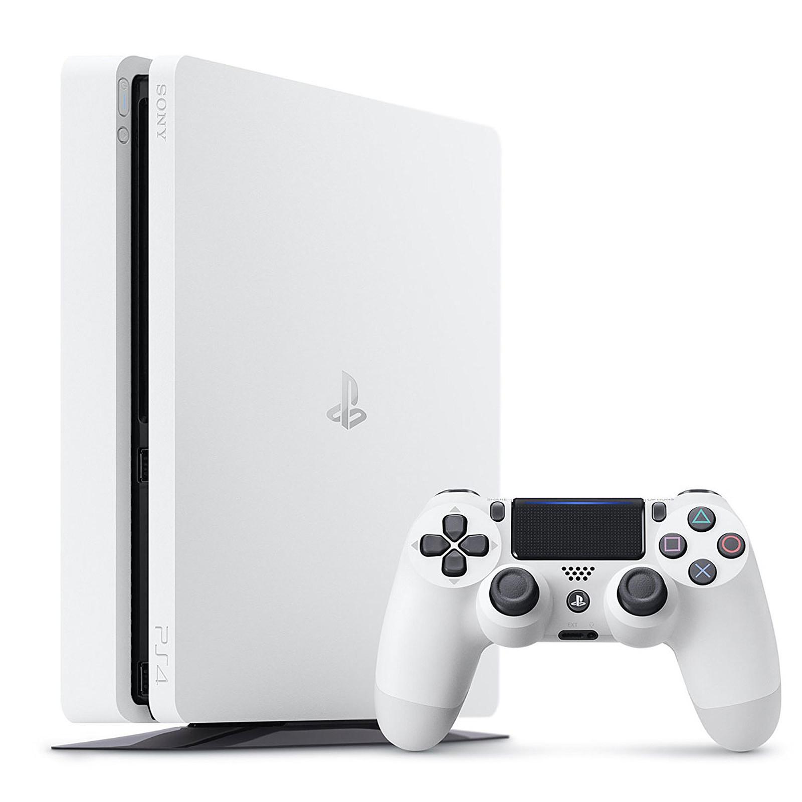 Console Sony PS4 Slim - 500 Go (Blanc)